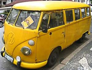 sunshine VW BusSunshine Yellow, Vw Campers, Vintage Bus, Yellow Sunshine, Mellow Yellow, Vw Bus, Vintage Yellow, Yellow Cars, Yellow Bus
