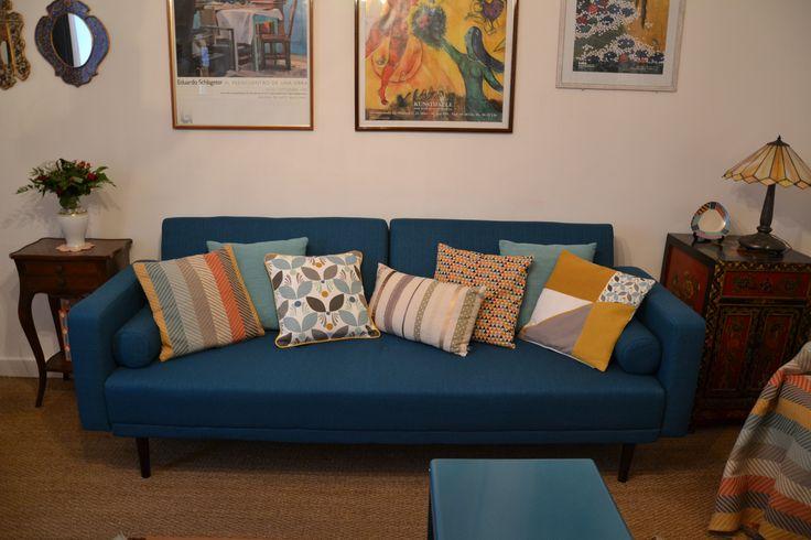 El canapé azul (Foto MTRD)