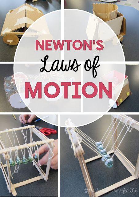 Newton's Laws of Motion! (Teachers Are Terrific!)