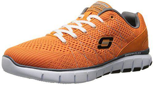 Skechers Skech-Flex, Herren Sneakers, Orange (ORCC), 43 EU - http://on-line-kaufen.de/skechers/43-eu-skechers-skech-flex-herren-sneakers-6