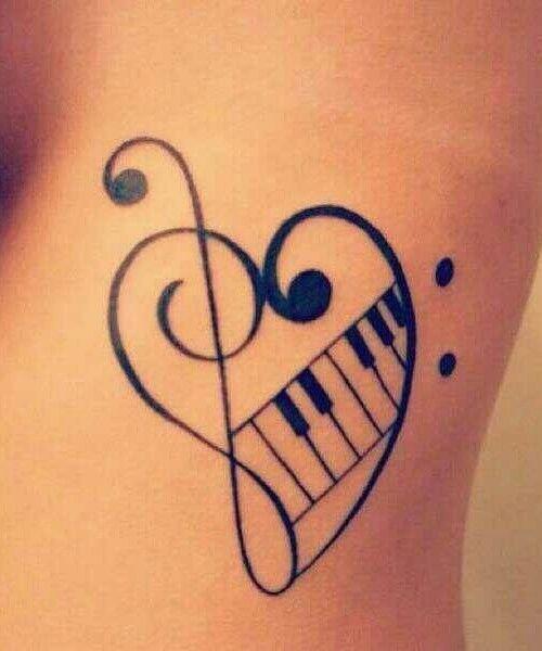 Best 10 music tattoo designs ideas on pinterest music for Feminine music tattoos