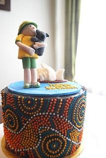 Australia Day Cake - W.O.W
