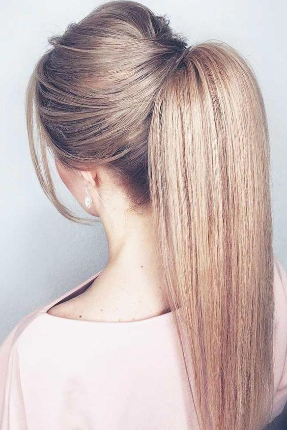 11 Step By Step Puff Hairstyles Tutorials Hait Ponytail