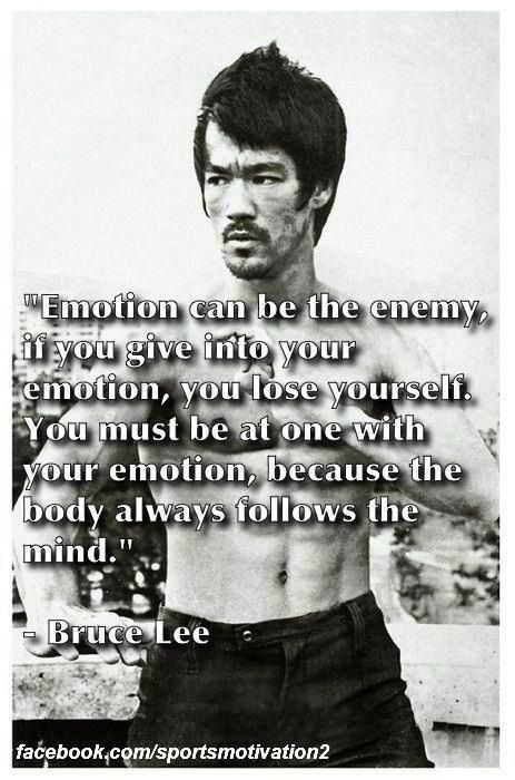 Great quote from martial arts master Bruce Lee. Check out my Jiu Jitsu, Boxing and MMA articles, workouts and more on http://thefightmechanic.com