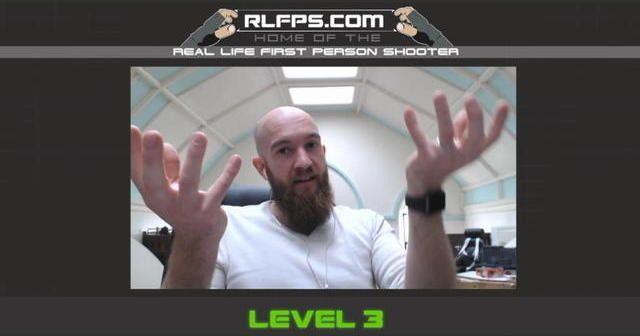 Real Life First person shooter - L'oeil de links Jeu vidéo interactif sur chat roulette. théâtre interractif