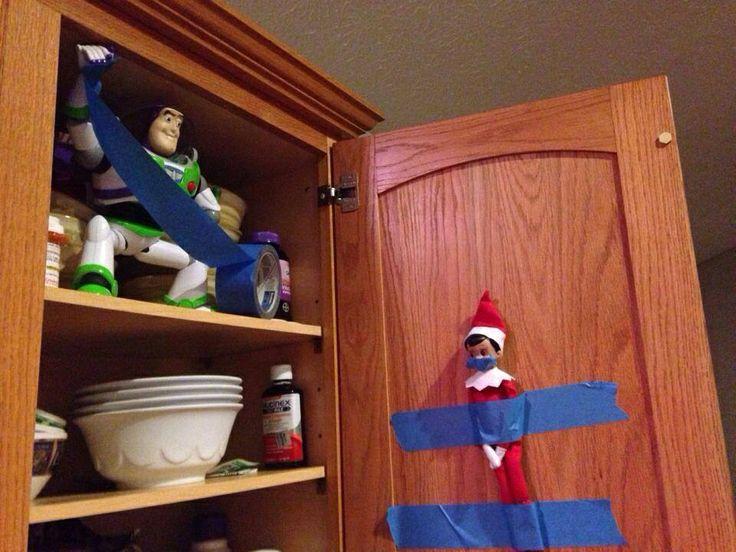 Elf on the Shelf is so creepy!