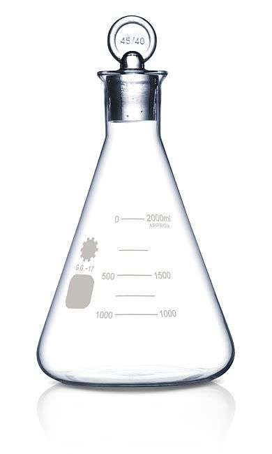 Erlenmeyer Flask Spirit Decanter