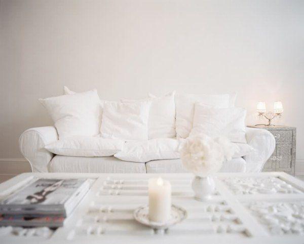 : Decor, Interior, All White, Living Rooms, White Sofas, Dream, Livingroom, Space, White Room