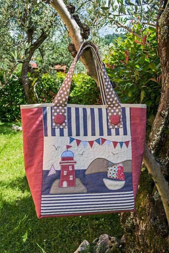 BEACH BAG E-PATTER by VERONICACOUNTRYLIFE on Etsy, €9.00