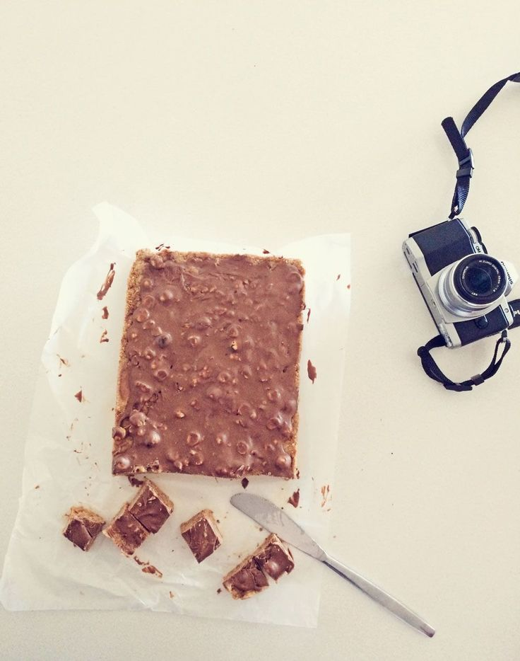 Grandma's yummy no-bake chocolate slice