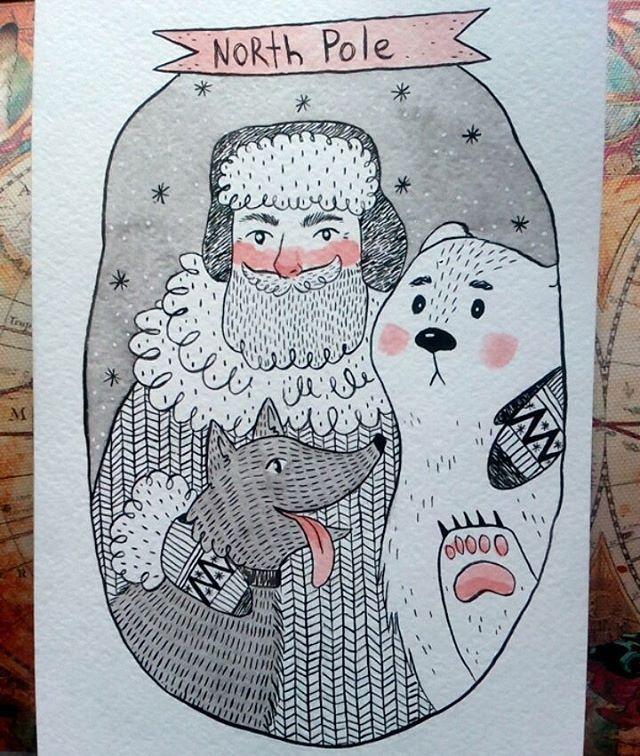 Bros! Even though the bear isn't sure if he needs friends like these two.  .  .  Мишка смущается камеры, а так он - душа компании. .  .  #inktober #inktober2016 #ink #тушь #инктябрь2016 #art #instaart #myart #artwork #draw #drawing #painting #instartist #drawings #drawn #instart #artistoninstagram #illustration #illustrationart #illustrationoftheday #illo #artstagram #арт #иллюстрация #рисунок