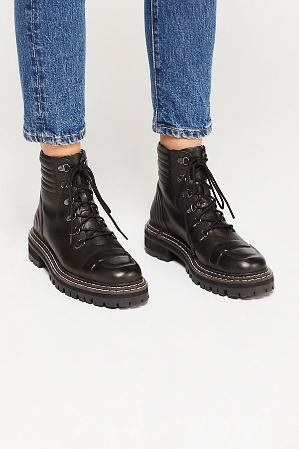 Carter Lace-Up Boots | Boots, Combat