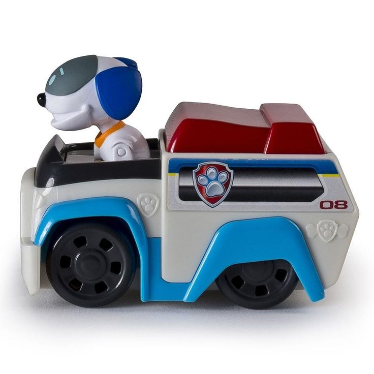 Pat Patrouille - Véhicule avec chien robot, Français