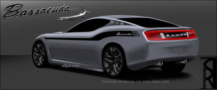 Concept for possible 2015 Barracuda reboot
