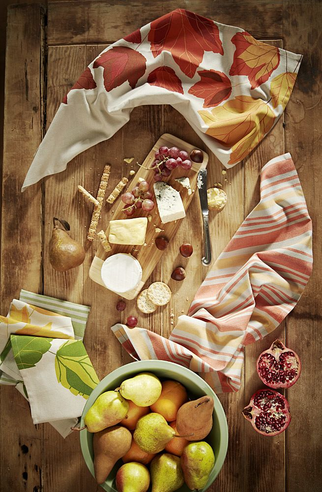 Cheese and Leaves -  Styling by Alice Brew for Ladelle Editorial