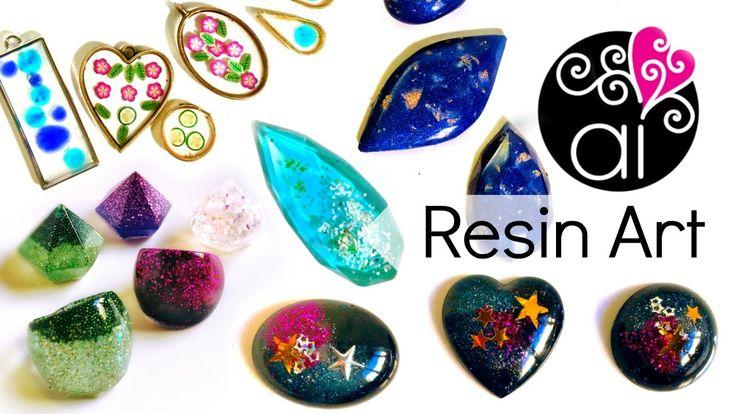 Scopriamo le nuove creazioni in resina   Corso Resin Art 2