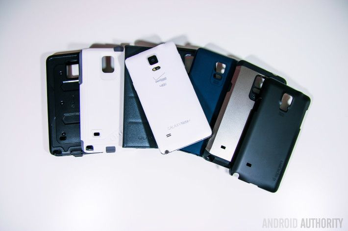We take a look at some of the best cases & accessories for the Samsung Galaxy Note 4 Android smartphone.