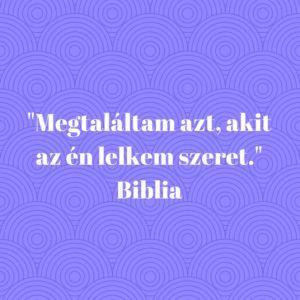 szerelem biblia