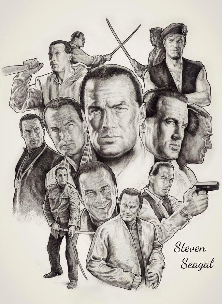 Steven Seagal - dibujos