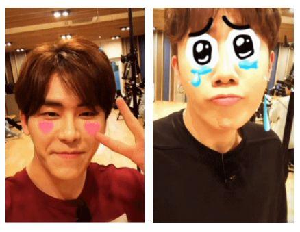 Kpop Idols Kpop Snow Snow Cam Kpop Snow App Kpop Idols Snow App Kpop Idols Face Filters Infinite Snow App Hoya 2016 Sunggyu 2016 Kpop Idol Kpop Idol