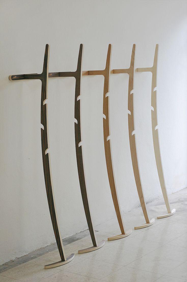 CNC machined curve hanger by kittipoom songsiri for karv
