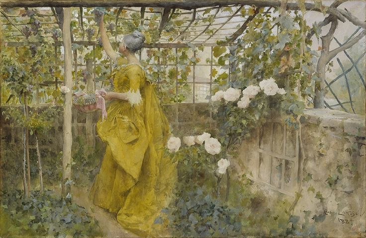 Vinet | Carl Larsson | 1884 | Nationalmuseum, Sweden | CC BY-SA