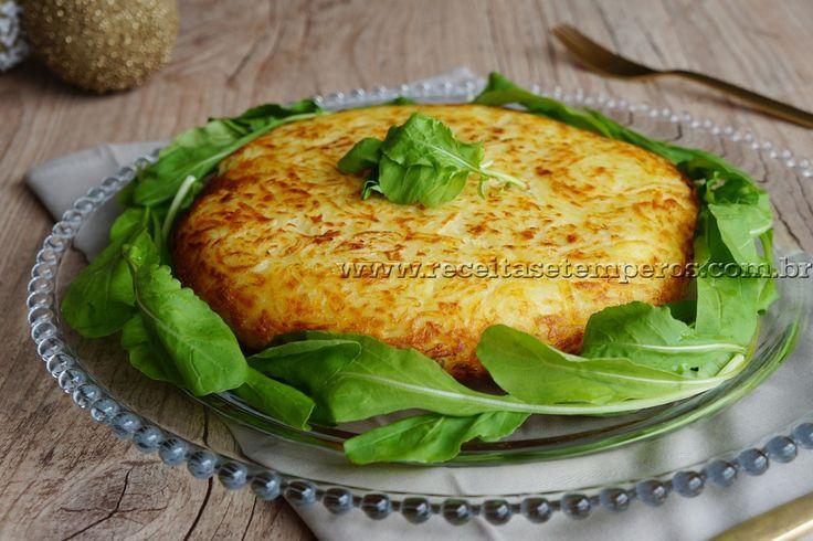 Batata rosti com peru e cream cheese | Receitas e Temperos