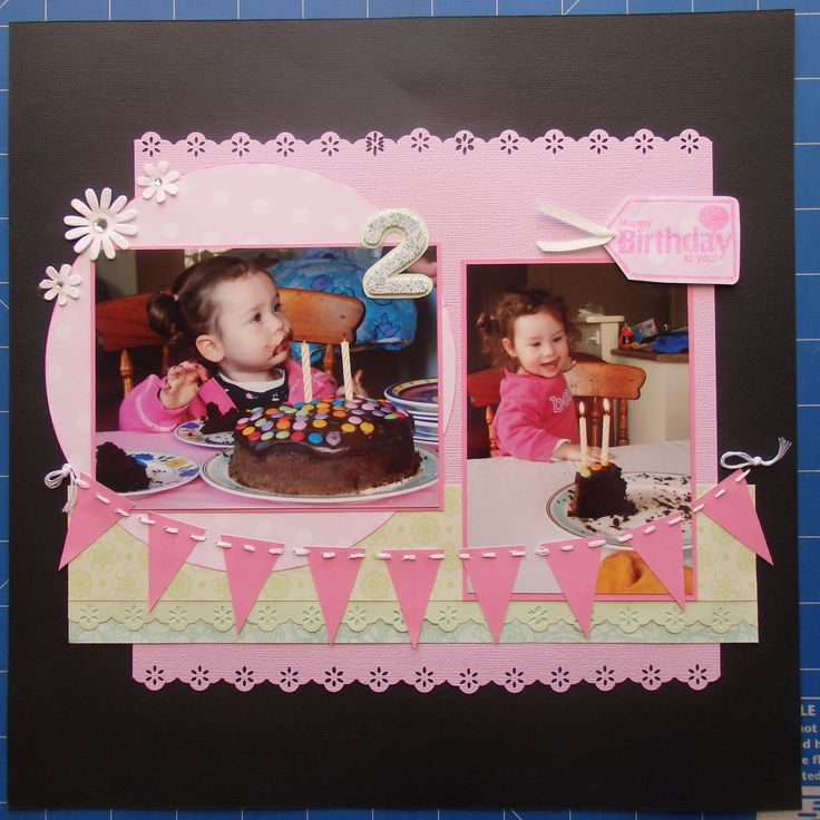 Scrapbook page by Laura: 2