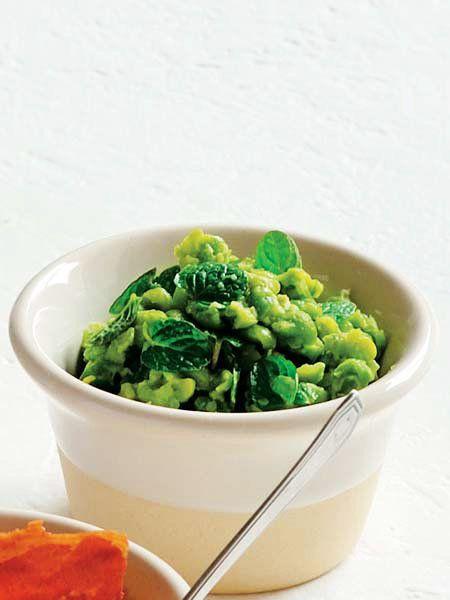 【ELLE a table】グリーンピースミントレシピ|エル・オンライン