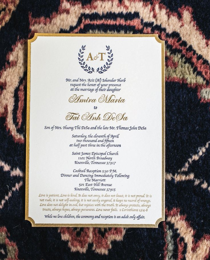 spanish wedding invitations uk%0A Gorgeous wedding invitations for a regal wedding  See more from this  traditional navy wedding in