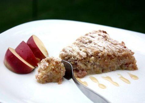 Švédsky jablkový koláč - recept
