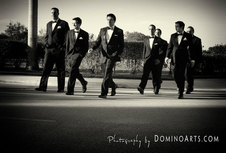 I can see Blake's groomsmen rocking this picture!