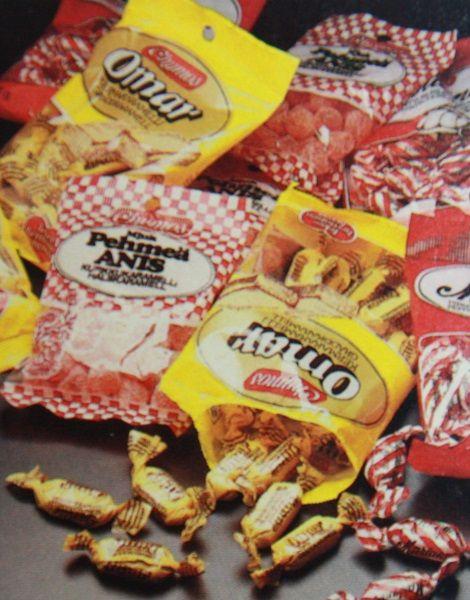 Chymoksen makeispusseja vm. 1985.