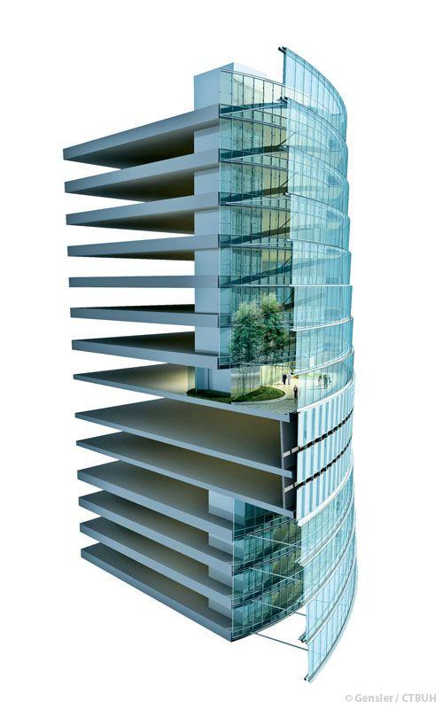 Shanghai Tower by Gensler #architecture - ☮k☮