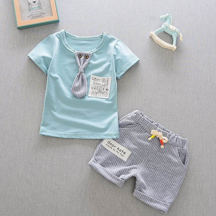>> Click to Buy <<  2017 Summer Baby Boys Clothes Kids Short Sleeve Clothing Set Star Toddler Boys short sleeved T-Shirts+Children Shorts #Affiliate