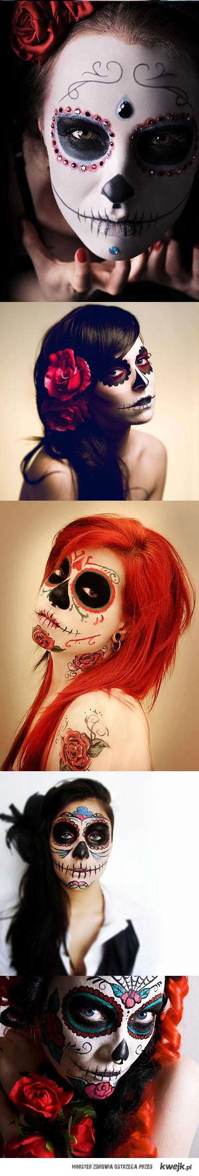 Haloween makeup for me...TJ and I have our zombie costumes already...MWAH HAH HAAAAA....