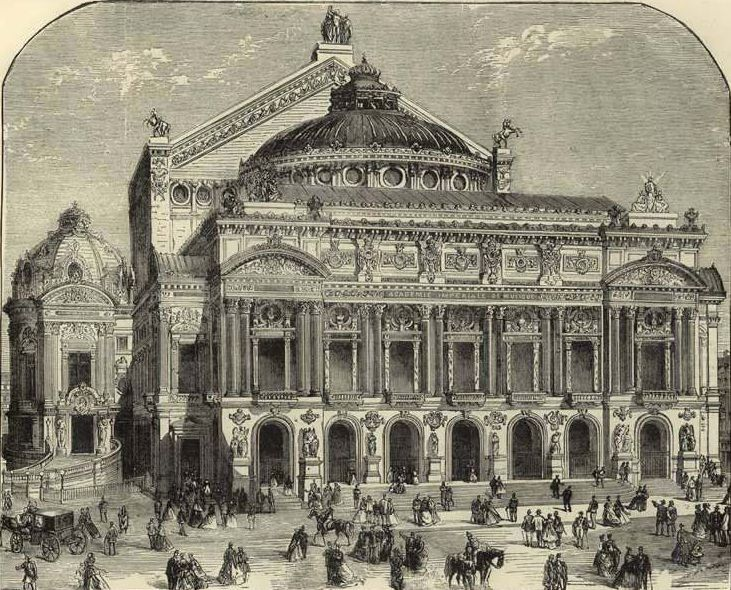 "New Paris Opera House ""The Pictorial world"" 1875 January 2nd"