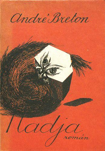 Czech cover for André Breton's Nadja, Josef Šíma, 1935