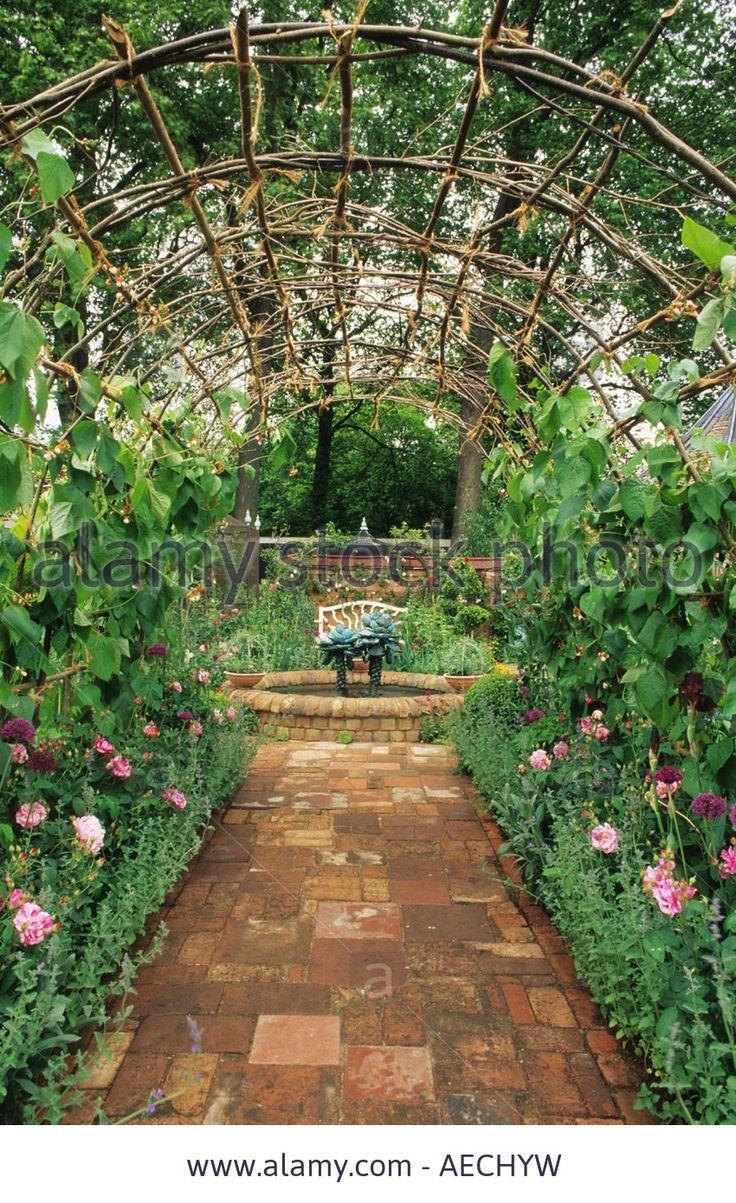 Vegetable garden with covered walkways - 235 Best Garden Images On Pinterest Gardens Garden Ideas And Landscapes