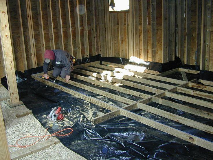 Wood Foundation Basement Construction