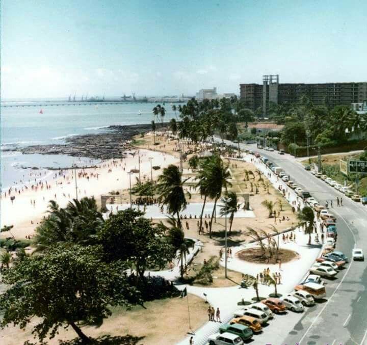 Assim era a Avenida Beira Mar....