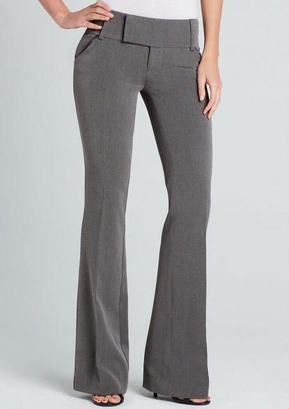 Bedford Pleather-Trim Trouser - View All Sale - Sale - Alloy Apparel