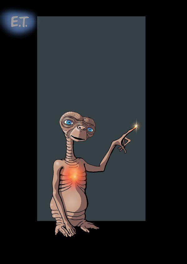 E.T. the Extra-Terrestrial / E.T. - Der Außerirdische by nightwing1975 (1982)