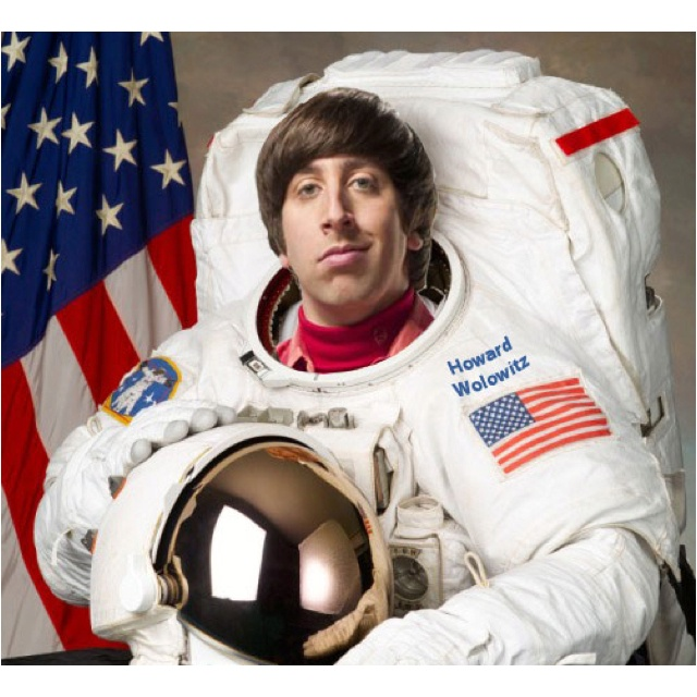 Image result for howard wolowitz astronaut