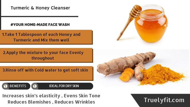 Turmeric and Honey Face wash Your own Home-Made Face Wash,How To make and Benefits