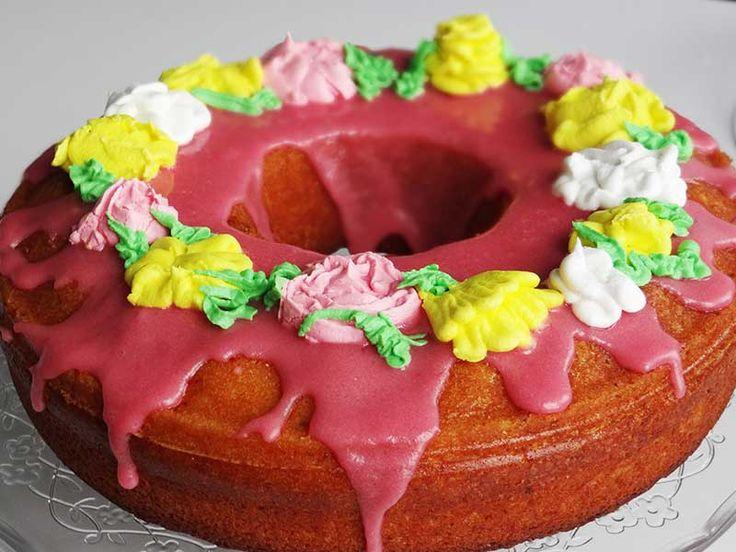 Prăjitură cu portocale roșii/Blood orange cake