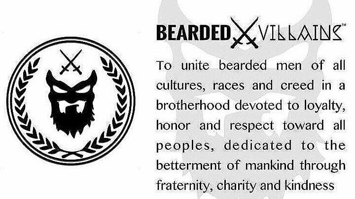 Bearded Villains -yhteisön tarkoituksena on tuoda parrakkaat miehet yhteen hyvän puolesta.
