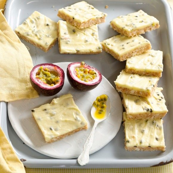 Collect this Passionfruit Slice recipe by Western Star. MYFOODBOOK.COM.AU | MAKE FREE COOKBOOKS