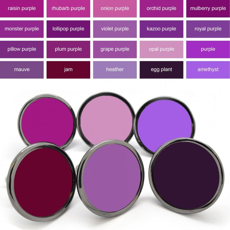 Inject some colour into your home with these brightly coloured purple door knobs. We have a range of 20 different shades of purple colours available to choose from so we are sure you will find the exact colour ones to match your furniture / room in your home