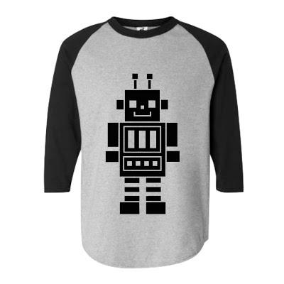 Robot Raglan. (S M L XL) Order: 087782342244 info@excelcy.com